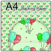 ref1_bp321 - Green Birthday Balloons