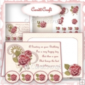 Fancy edge card set 1