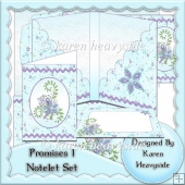 Promises 1 Notelet Set