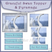 Graceful Swan Topper & Pyramage