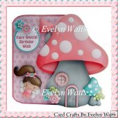 Fairy Special Wish Shaped Fold Card Kit