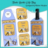 Tools Bottle Gift Tag