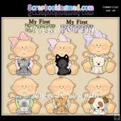 Just Babies Pets ClipArt Graphic Collection