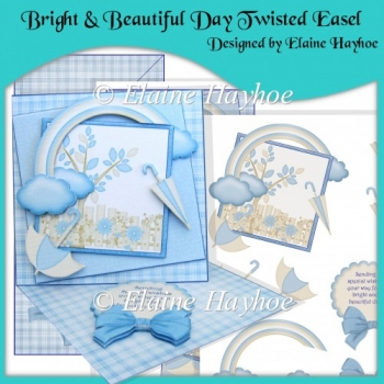 Bright & Beautiful Day Twisted Easel Card