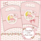 Sweet Baby Girl Pouch Sack