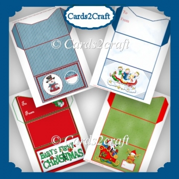 Money or gift card wallets