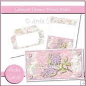 Lavender Dreams Money Wallet