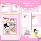 Little Mouse Weding Day Box Card