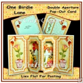 One birdie Lane Double Aperture Pop Out