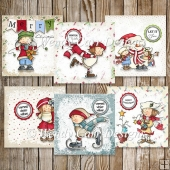 RTP REALLY QUICK CARDS SASSY CHRISTMAS