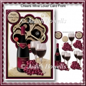 Cheers Wine Lover Card Front
