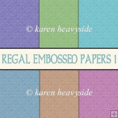 Regal Embossed Papers 1