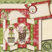 "Tri Shutter Card ""all I need for christmas is you"""