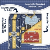 Assembly Required Gift Box Card