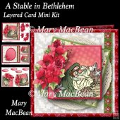A Stable in Bethlehem Layered Card Mini Kit