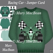 Racing Car - Jumper Card