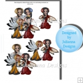 Flower Fairies Decoupage Sheet