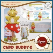 You're Unfrogettable Shaped Fold Card Kit