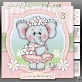 Daisy Ella Elephant Mini Kit With Ages 1 to 6