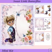 Sweet Little Butterflies Mini Kit