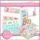 Sweet Like Candy Pop Up Box Card