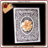 793 Flower Oval Topper/s *Multiple Machine Formats*