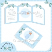 BABY BOY TRI-CARD AND BOX