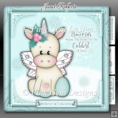 Unicorns Warm The Heart Mini Kit