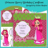 Princess Berry Birthday Cardfront