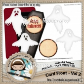 Card Front - Vol 2 (Halloween)