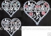 Wedding Heart Set,TF0090, SVG, MTC, SCAL, CAMEO, CRICUT