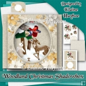 Woodland Christmas Shadowbox