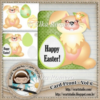 Card Front - Vol 6 (Easter)