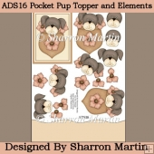 ADS16 Pocket Pup Topper and Elements