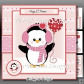 Valentine/Anniversary Penguin Mini Kit