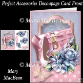 Perfect Accessories Decoupage Card Front