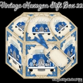 Vintage Car Hexagon Gift Box 22