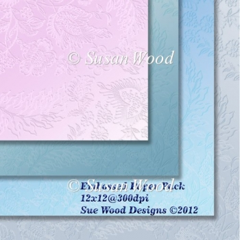 Embossed paper pack 12x12inches Commercial Use