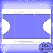 Square Gatefold Template 7