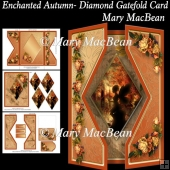 Enchanted Autumn - Diamond Gatefold Card