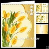 Yellow Tulips Spring Flowers Mini Kit