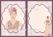 Floral Couture High Fashion A5 Insert Subtle Shade