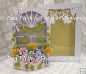 Mum's 3D Floral Window Box, Cameo,Curio,Portrait