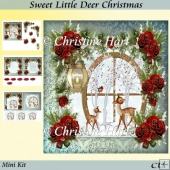 Sweet Little Deer Christmas Mini Kit