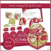 Hootie Holidays Pop Up Box Card