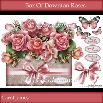 Box Of Downton Roses - Over The Edge