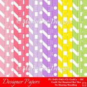 Bright Easter Colors 1 Digital Designer A4 Papers Backgrounds