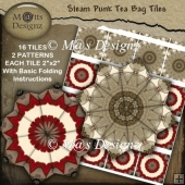 Steam Punk Tea Bag Tiles