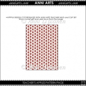 Teacher's Apples Patterned Paper