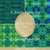Printable Paper Bead Sheet Set 7